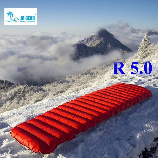 Matelas d\'air extérieur ultra-léger  tapis d\'air gonflable étanche à l\'humidité avec lit de camping