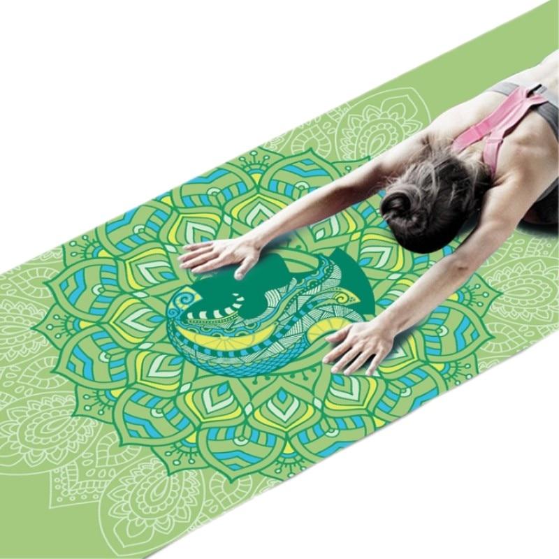 6 MM douze Constellation motif PVC tapis de Yoga anti-dérapant minceur exercice Fitness tapis de gymnastique musculation Pilates 173*61 mm
