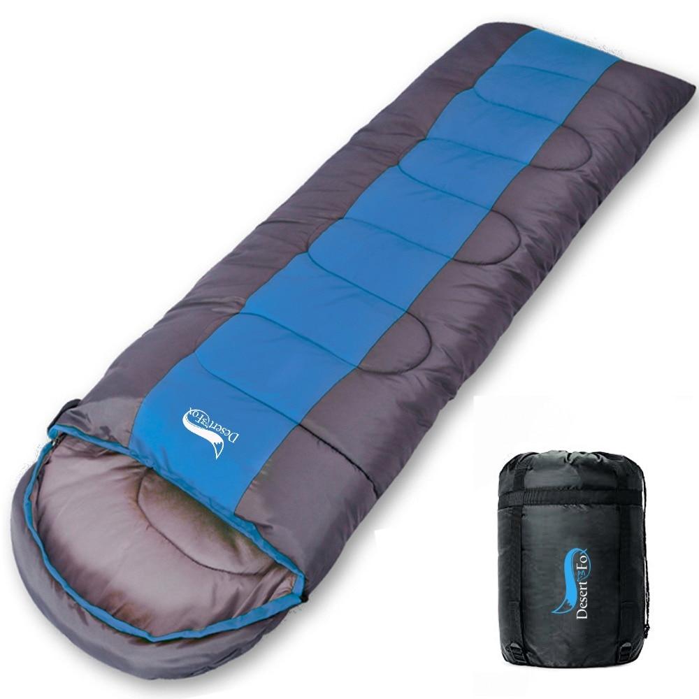 Sac de couchage de Camping sac de couchage léger 4 saisons enveloppe chaude et froide