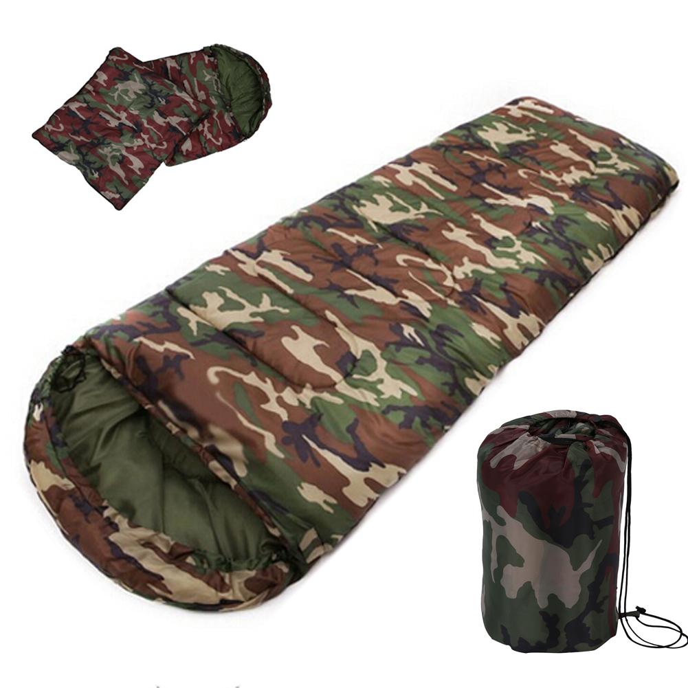 haute qualité coton Camping sac de couchage style enveloppe, armée ou militaire