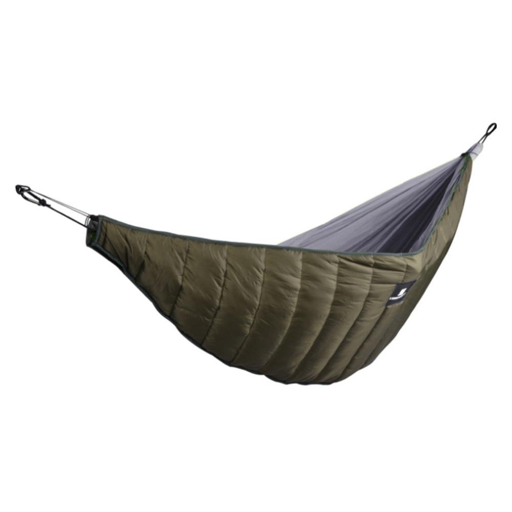 Camping en plein air pleine longueur hamac sous-couette ultra-léger hiver chaud sous couverture de couette hamac en coton