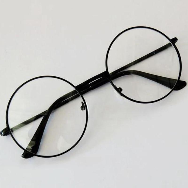 lunettes Original rétro clair lentille lunettes 2 Styles hommes de haute qualité