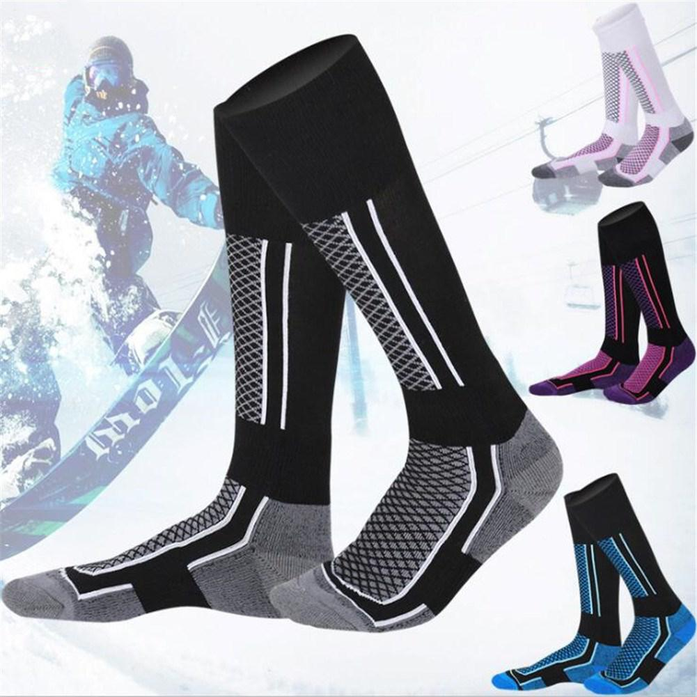 Mounchain-femmes-homme-hiver-Ski-neige-Sports-chaussettes-thermique-longue-Ski-neige-marche-randonn-e-sport