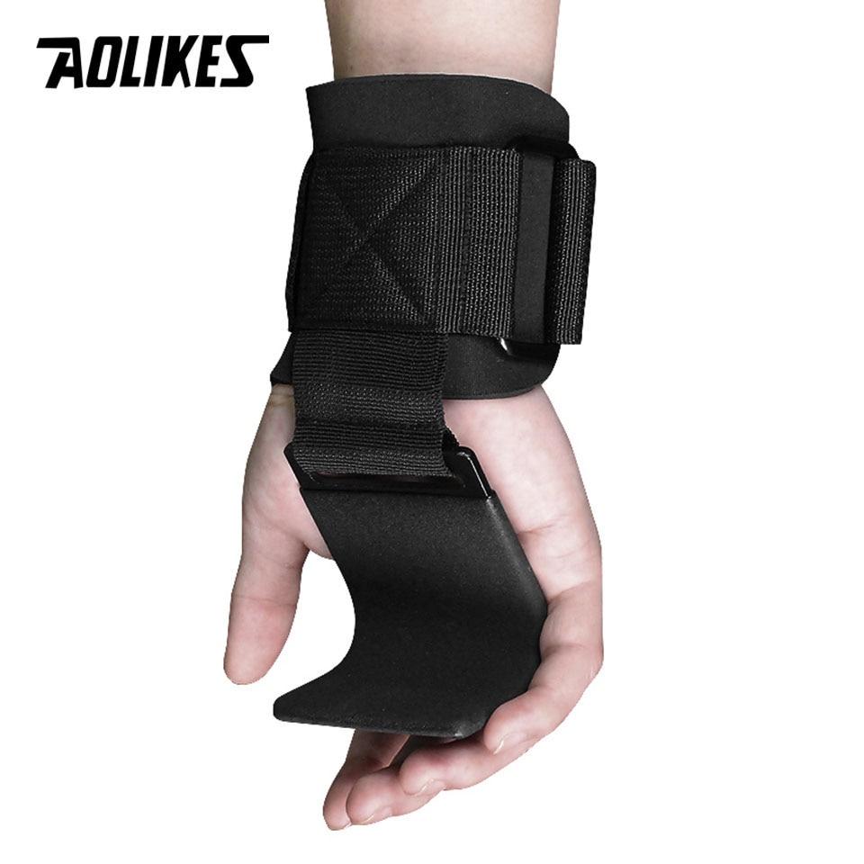 1 paire Fitness haltérophilie crochet de levage Gym poignées sangles poignet soutien poids puissance haltère crochet haltérophilie