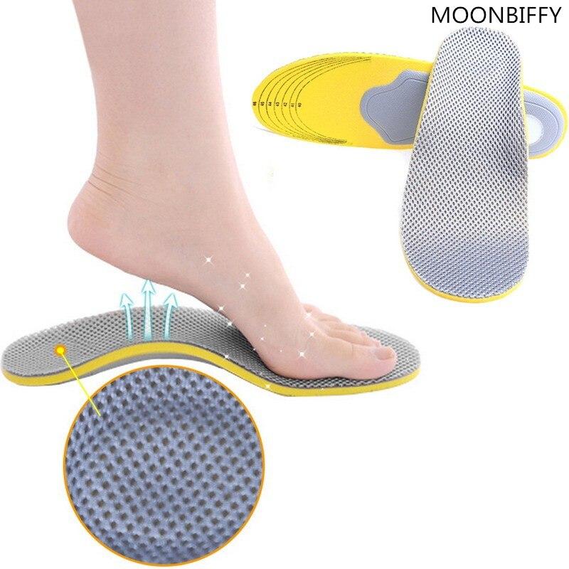 1 paire de semelles de chaussures orthopédiques inserts confortable et recoupable