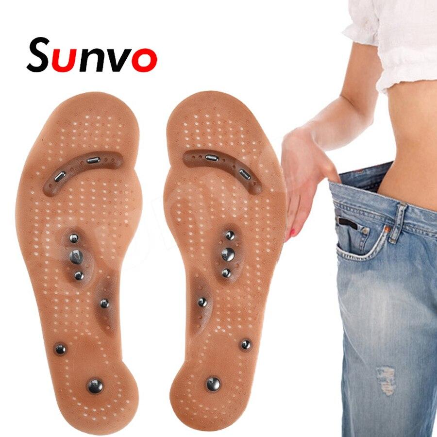 Thérapie magnétique Minceur Semelles pour la Perte de Poids Soins De Santé de Massage Chaussures