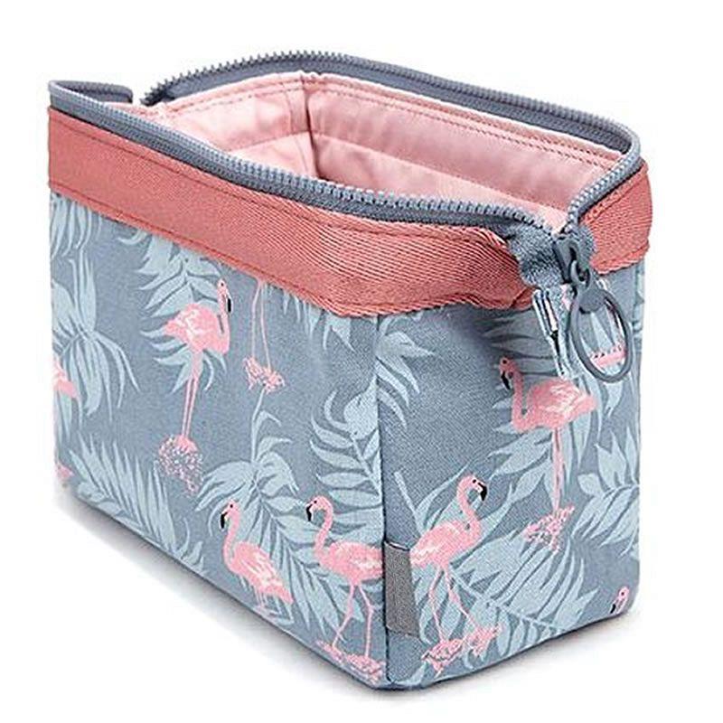 sacs femmes fille cosmétique sac maquillage beauté lavage organisateur trousse de toilette flamingo