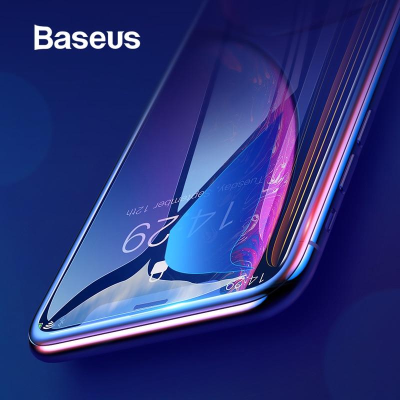 protection verre trempé pour iPhone Xs Xs Max XR 2018 protecteur d\'écran mince verre de protection pour iPhone X Xs XR