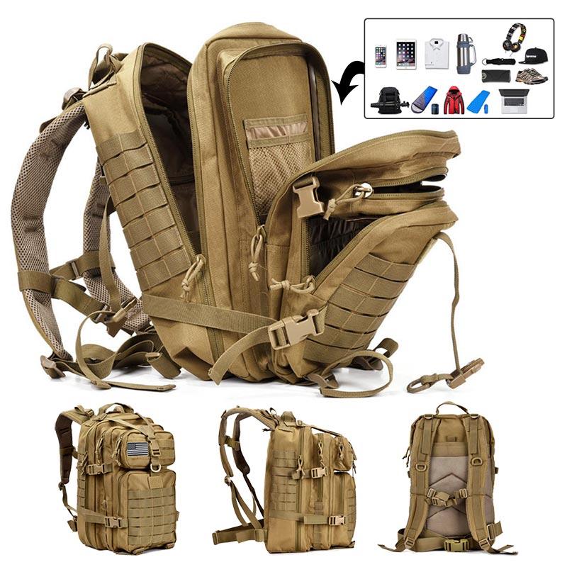 sac à dos 50 l hommes armée militaire tactique grand sac à dos étanche en plein air Sport randonnée Camping chasse