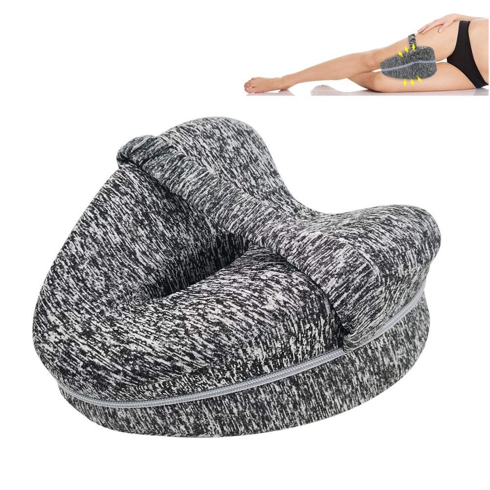 oreillers orthopédique de genou soutien coussin entre les jambes pour la douleur à la hanche sciatique