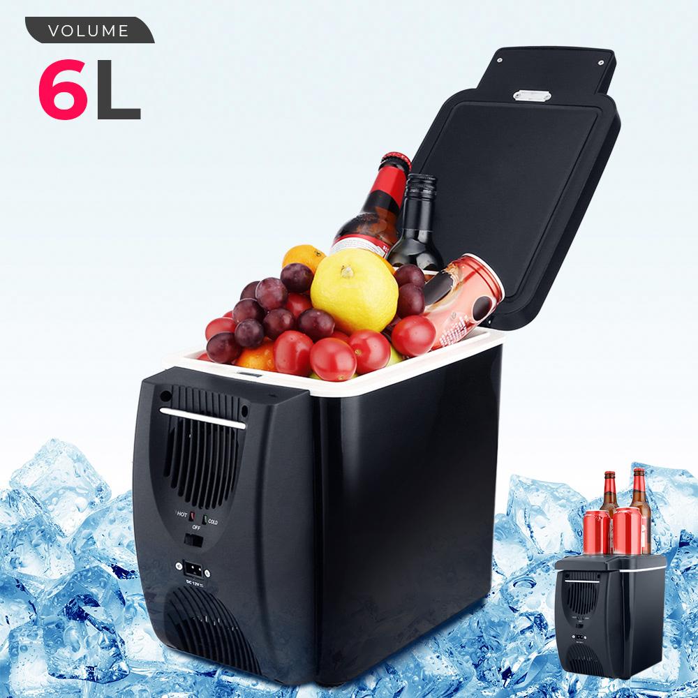 12 V 45 W 6L Mini réfrigérateur 2 en 1 autonome moins de bruit