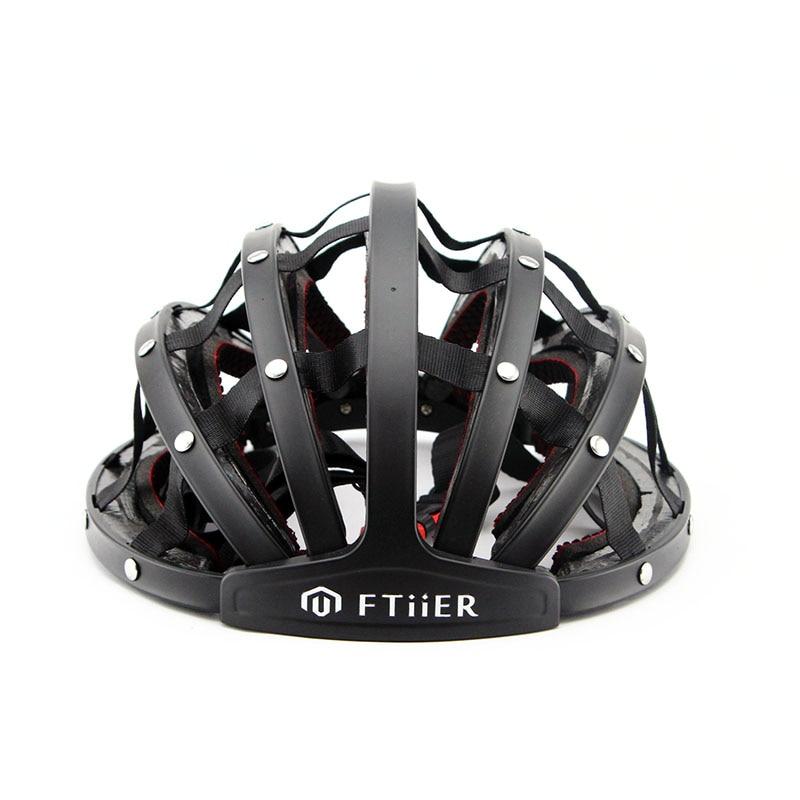 casque de vélo pliable casque ultra-léger Sport de plein air cyclisme