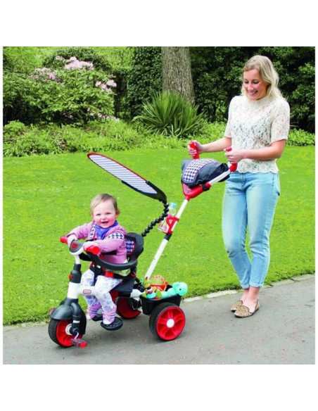 BEBE little-tikes-tricycle-evolutif-4-en-1-sports-edition-rouge-blanc