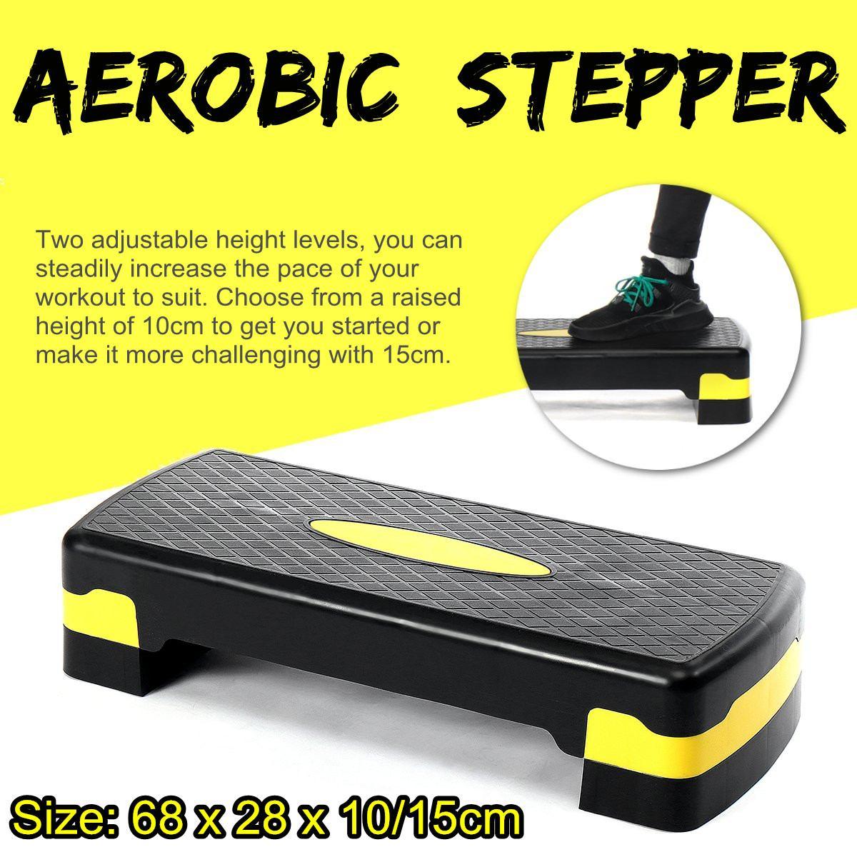 Remise-en-forme-a-robie-tape-r-glable-anti-d-rapant-Cardio-Yoga-p-dale-Stepper