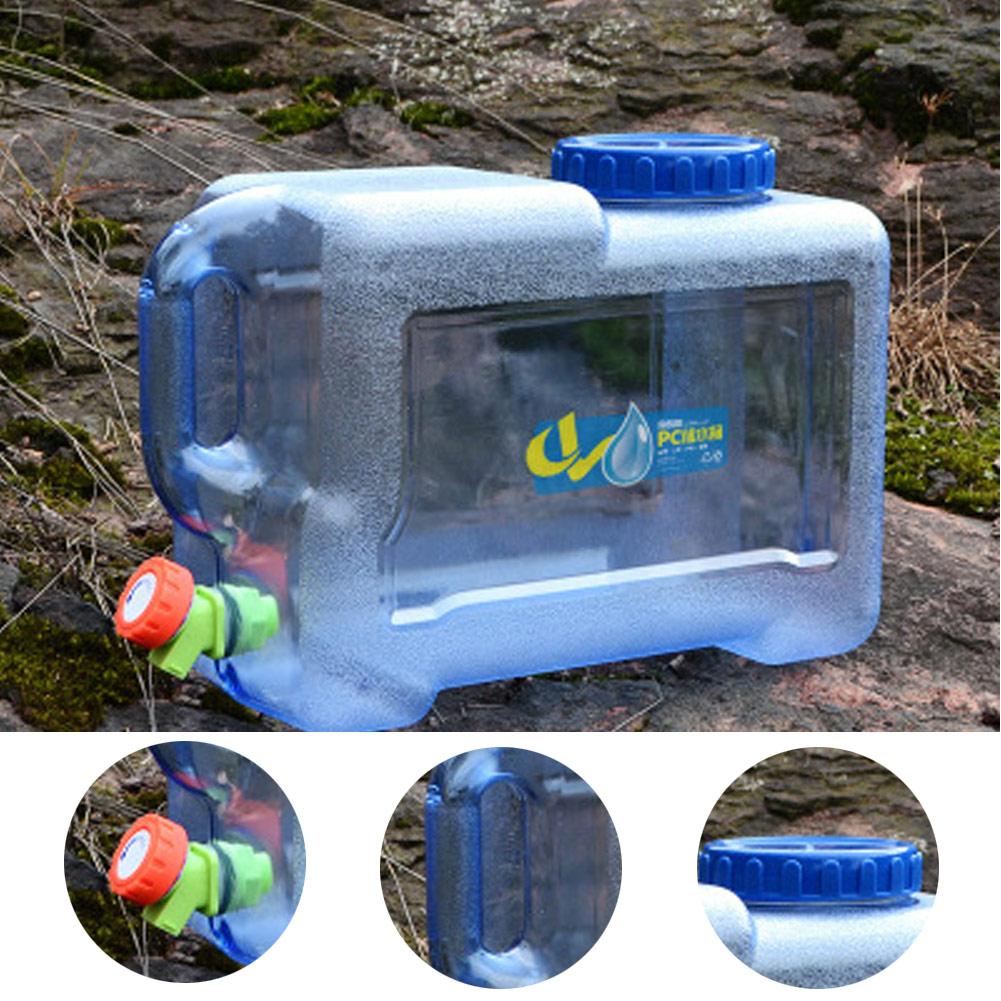 bidon jerrican réservoir d\'eau Portable récipient d\'eau avec robinet pour Camping randonnée pique-nique