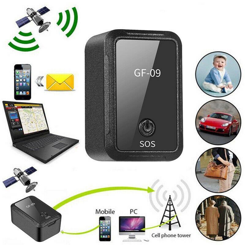 GF-09 Mini GPS Tracker APP télécommande dispositif antivol GSM GPRS