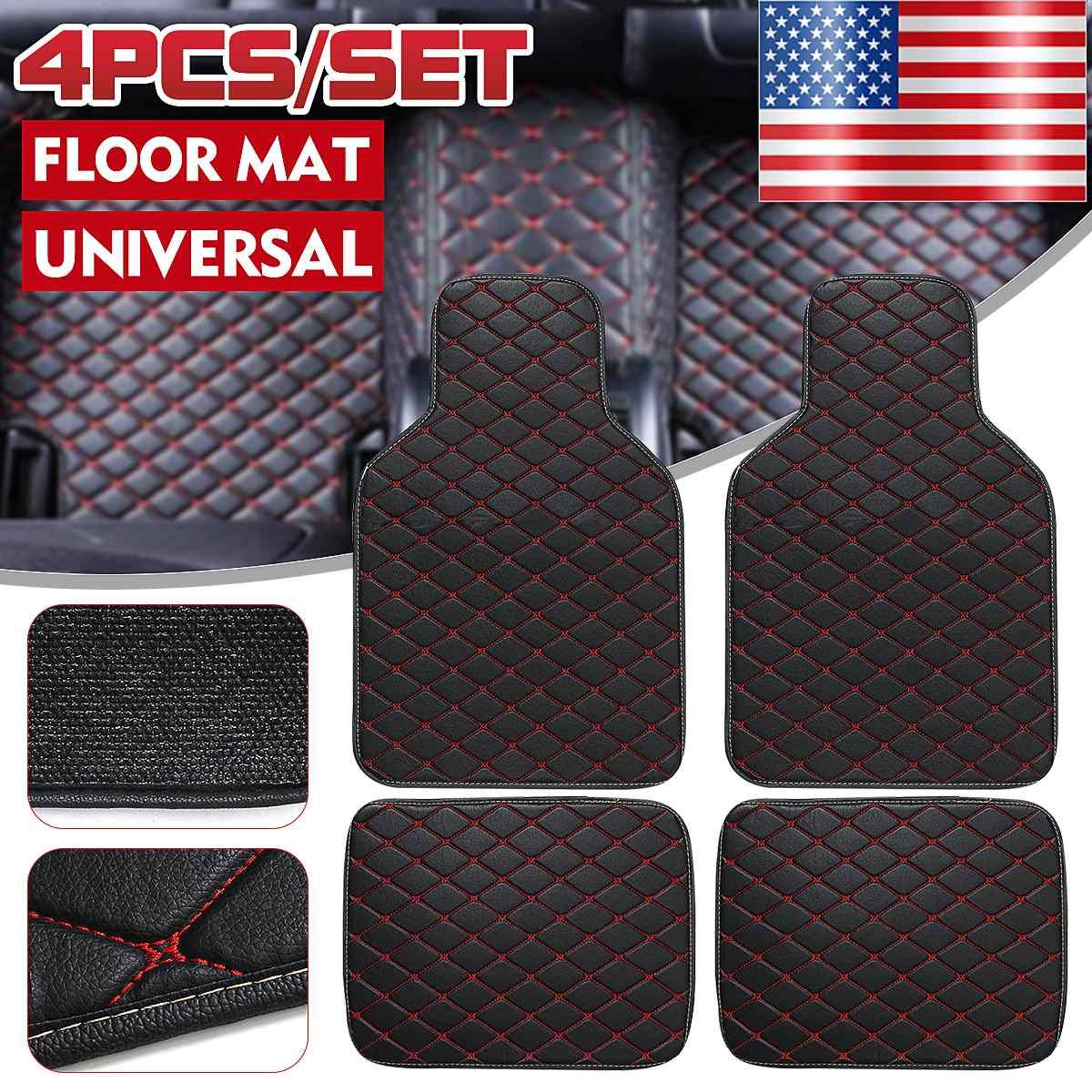 Tapis de sol de voiture universel pour vw pour accessoires de polo pour vw pour passat b5 b6 golf touran tiguan pour jetta accessoires de voiture tapis de voiture