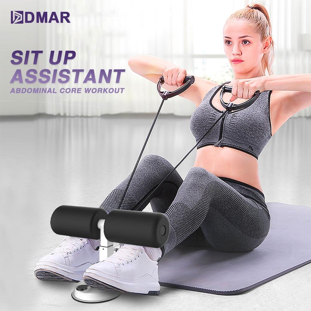 Assis Assistant abdominaux entraînement de base Fitness réglable assis Ups équipement d\'exercice Portable