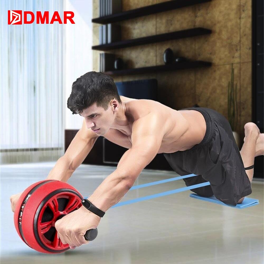 DMAR silencieux  abdominale roue rouleau formateur équipement de Fitness Gym maison exercice