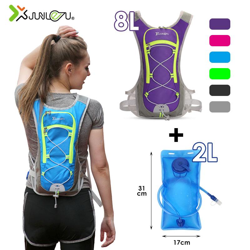 8L Nylon gilet course à dos sport hydratation cyclisme Marathon Trail course hommes femmes sac étanche course Fitness accessoires
