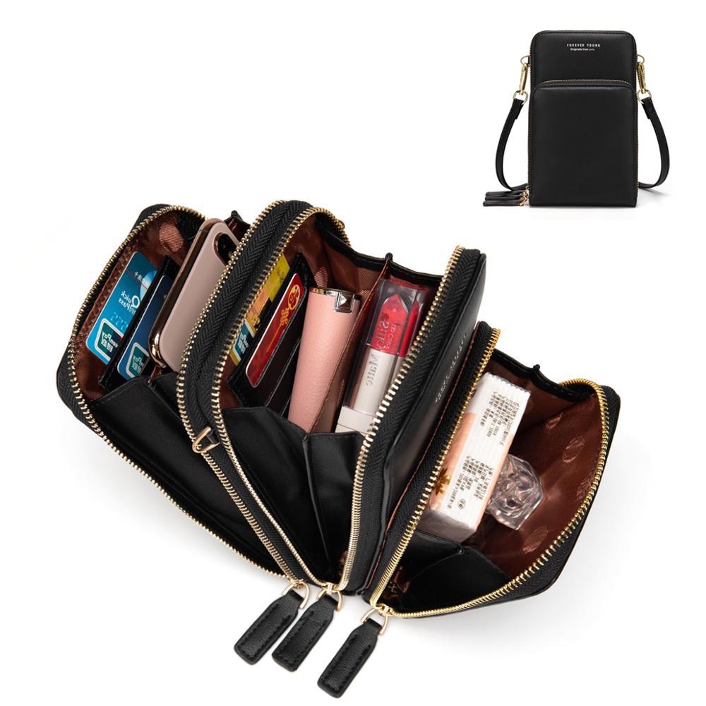 Nouveauté coloré sac de téléphone portable mode usage quotidien porte-carte petit sac à bandoulière d\'été pour les femmes