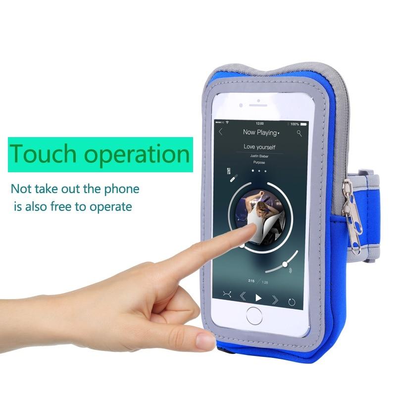 Écran tactile téléphone portable bras hommes femmes pour Iphone 5 s/6/6 s/Plus sport course sac