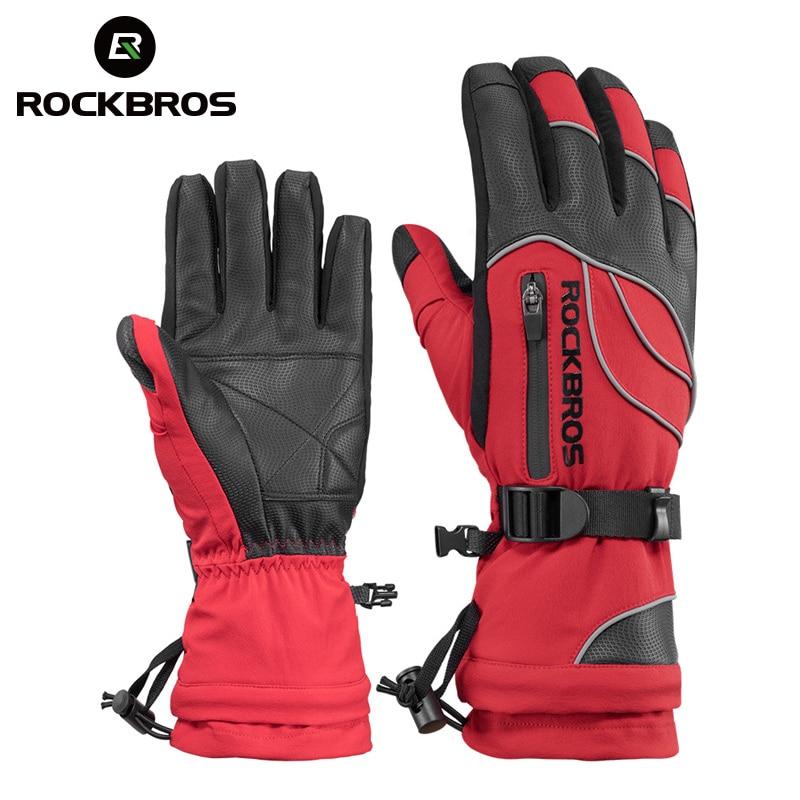 ROCKBROS imperméable Ski-30 gants hiver coupe-vent motoneige Snowboard gants neige hommes femmes