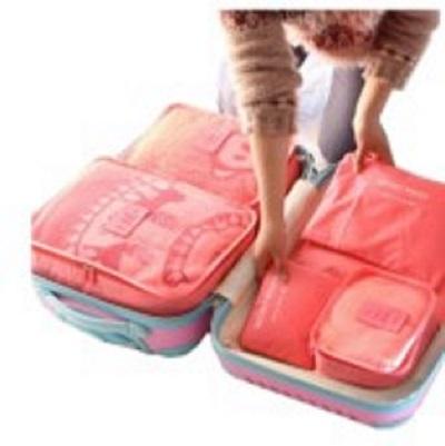 kit rangement valise 6 pochettes voyage vacances