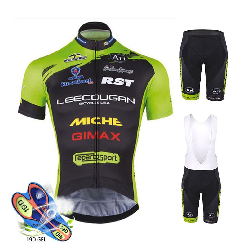 Pro Team vêtements De cyclisme été manches courtes combinaison De cyclisme hommes haut et bas