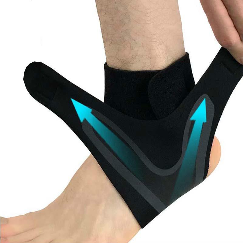 1 pièce pas cher Support De Cheville, Élasticité Ajustement Libre Protection Pied Bandage, Entorse