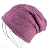 Bonnet-femme-automne-et-hiver-casquettes-hip-hop-casquette-fleur-strass-chapeaux-pour-femmes-bonnets-cagoule