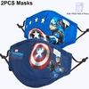 Masque-facial-pour-enfants-Disney-Mickey-Sofia-Frozen-Spiderman-avec-filtre-Anti-poussi-re-PM2-5
