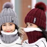 Marque-hiver-tricot-bonnets-chapeaux-femmes-pais-chaud-Beanie-Skullies-chapeau-femme-tricot-lettre-Bonnet-Beanie