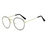 Lunettes-rondes-cadre-femme-hommes-lunettes-r-tro-myopie-montures-optiques-m-tal-clair-lentille-noir