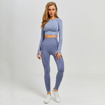 Femmes-Vital-sans-couture-Yoga-ensemble-Gym-v-tements-Fitness-Leggings-chemises-recadr-es-Sport-costume