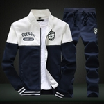 2019-nouveaux-hommes-ensembles-mode-sport-costume-marque-Patchwork-fermeture-clair-sweat-pantalons-de-surv-tement