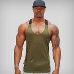 Solide-gymnastique-hommes-Stringer-d-bardeur-musculation-Fitness-Singlets-Muscle-gilet-t-shirt