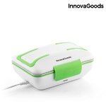 InnovaGoods-Pro-gamelle-lectrique-50W-blanc-vert