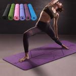 Tapis-de-Yoga-TPE-1830-610-6mm-avec-ligne-de-Position-tapis-antid-rapant-pour-d