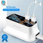 8-Ports-Charge-rapide-3-0-Led-affichage-USB-chargeur-pour-Android-iPhone-adaptateur-t-l