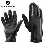ROCKBROS-gants-de-Ski-thermique-hommes-femmes-hiver-Ski-polaire-imperm-able-Snowboard-gants-cran-tactile