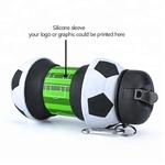 Nouveaut-Football-sport-bouteille-d-eau-avec-paille-pliable-pliable-voyage-Silicone-mes-bouteilles-innovant-Camping