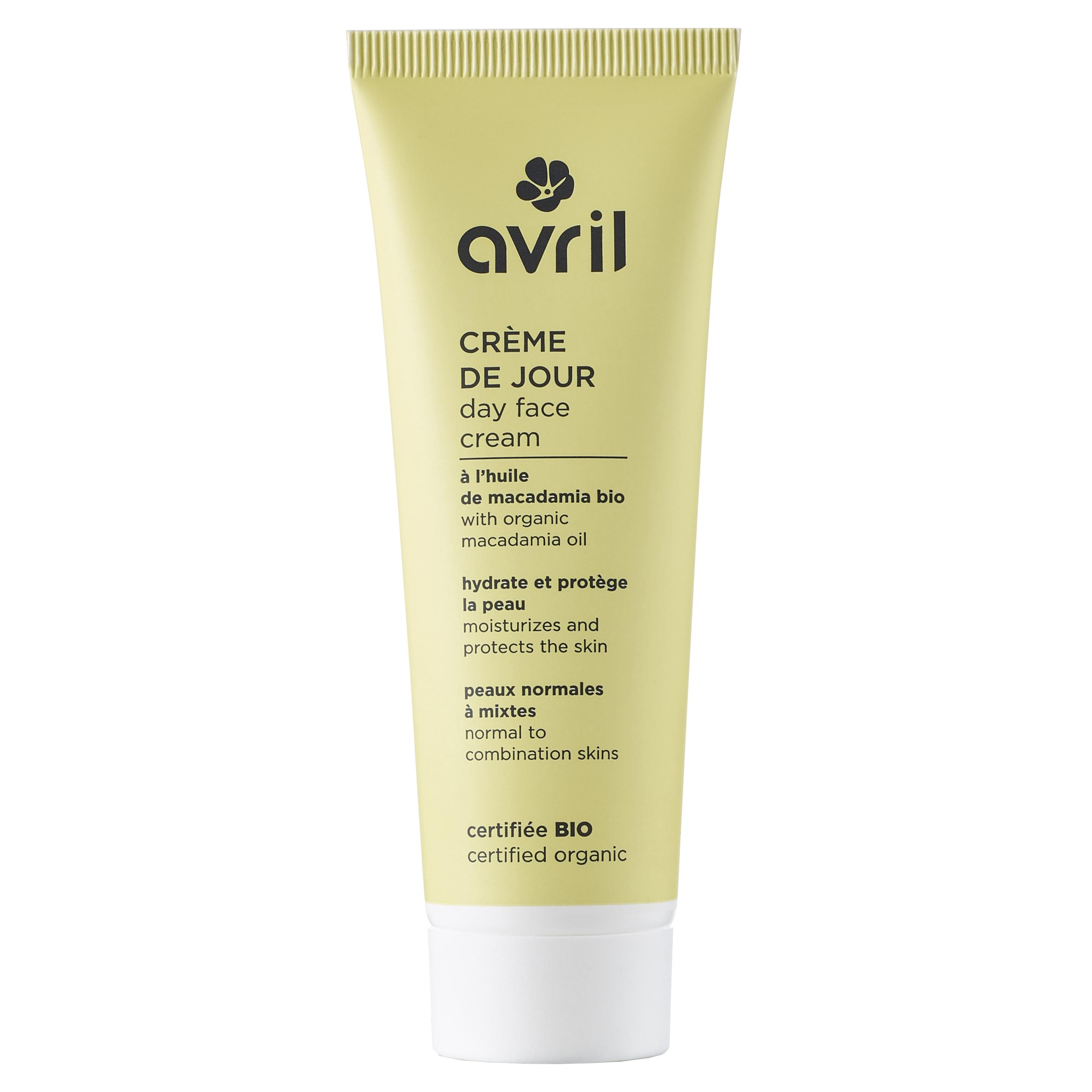 Crème de jour peaux normales et mixtes - certifiée bio 50 ml