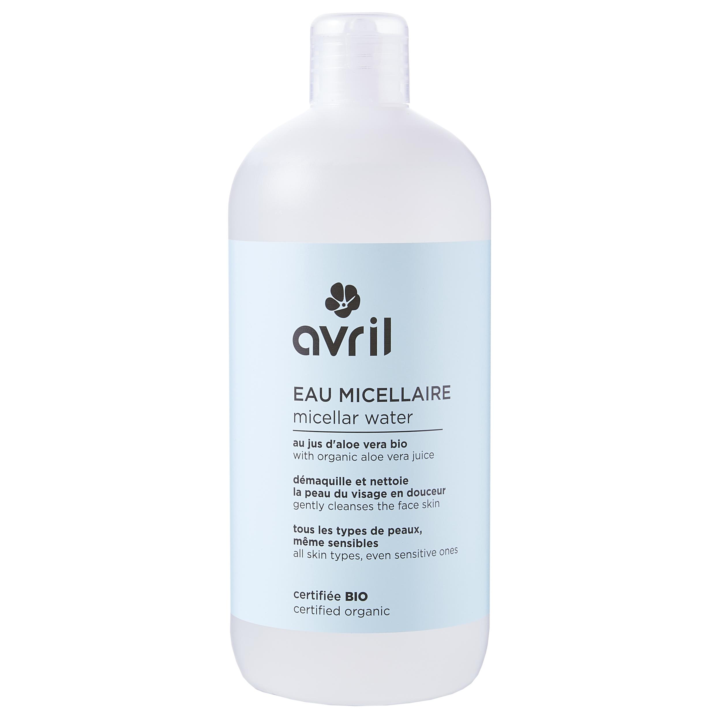 Eau micellaire-certifiée Bio 500 ml
