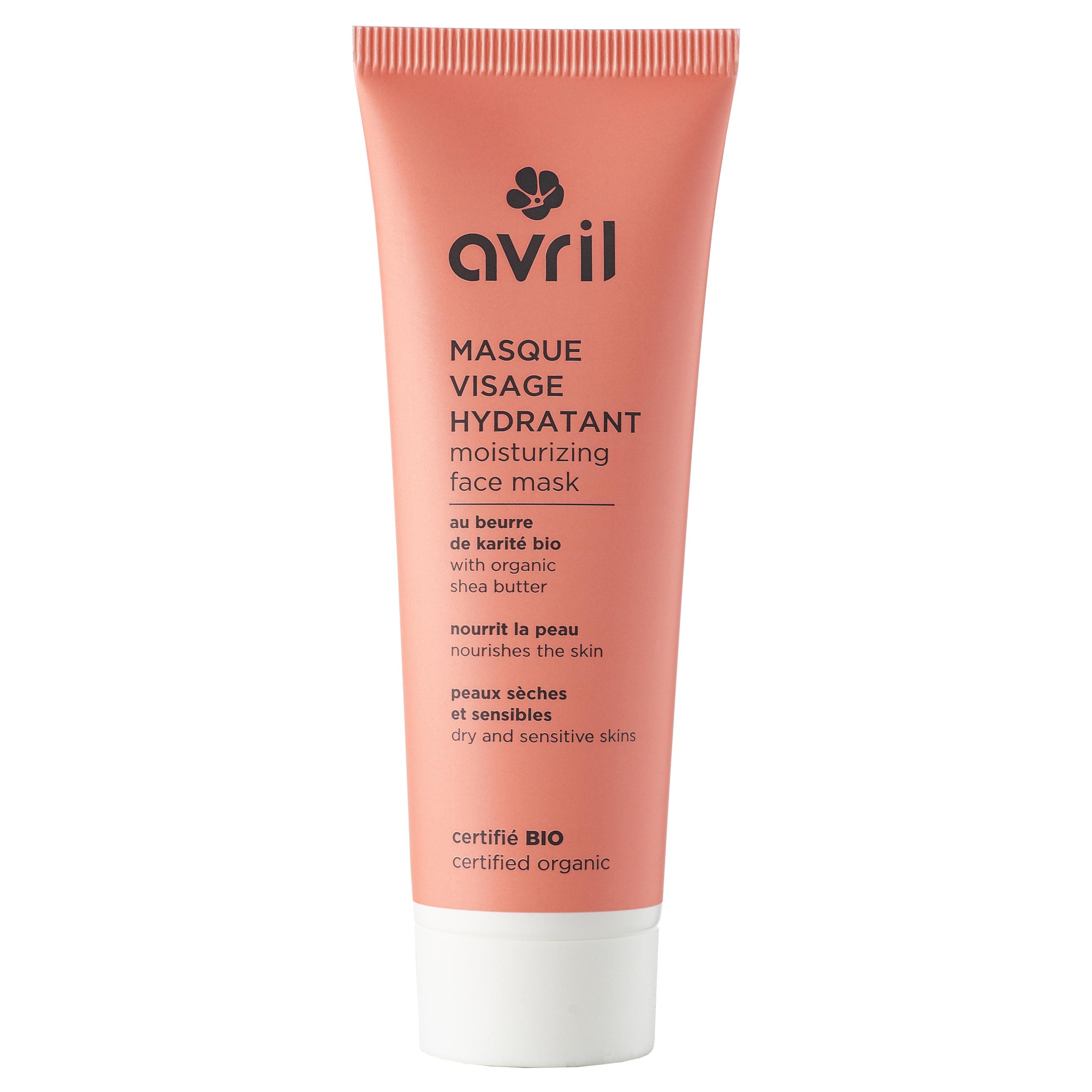 Masque visage hydratant - certifié bio 50 ml