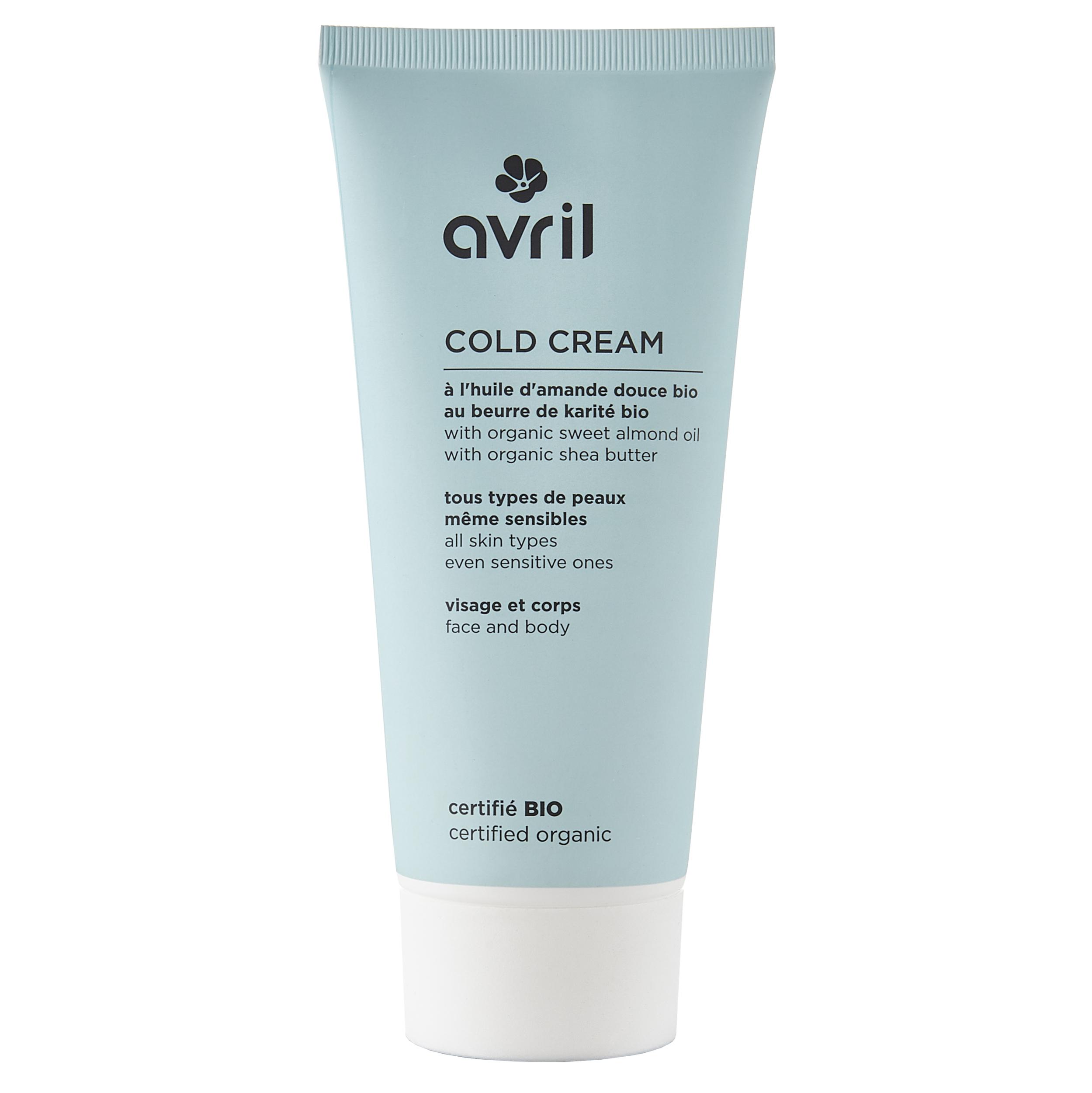 Cold cream - certifiée bio 200 ml