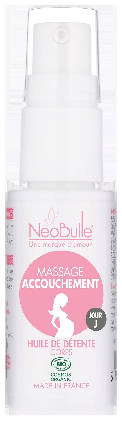 Massage Accouchement, huile détente 20 ml