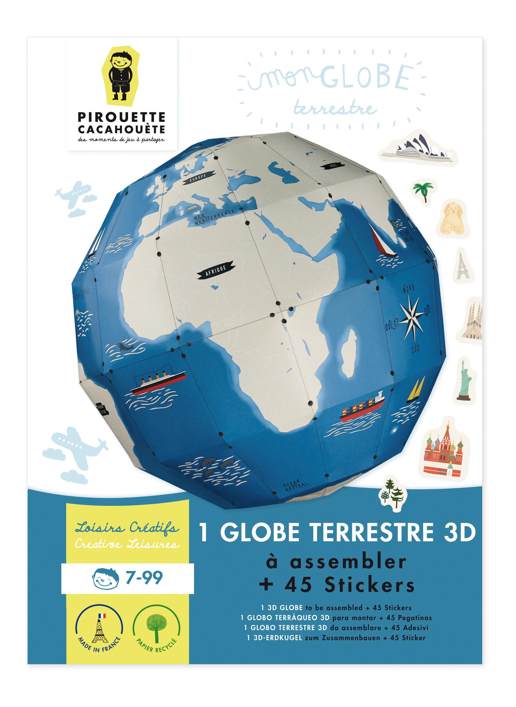 Mon Globe Terrestre 3D