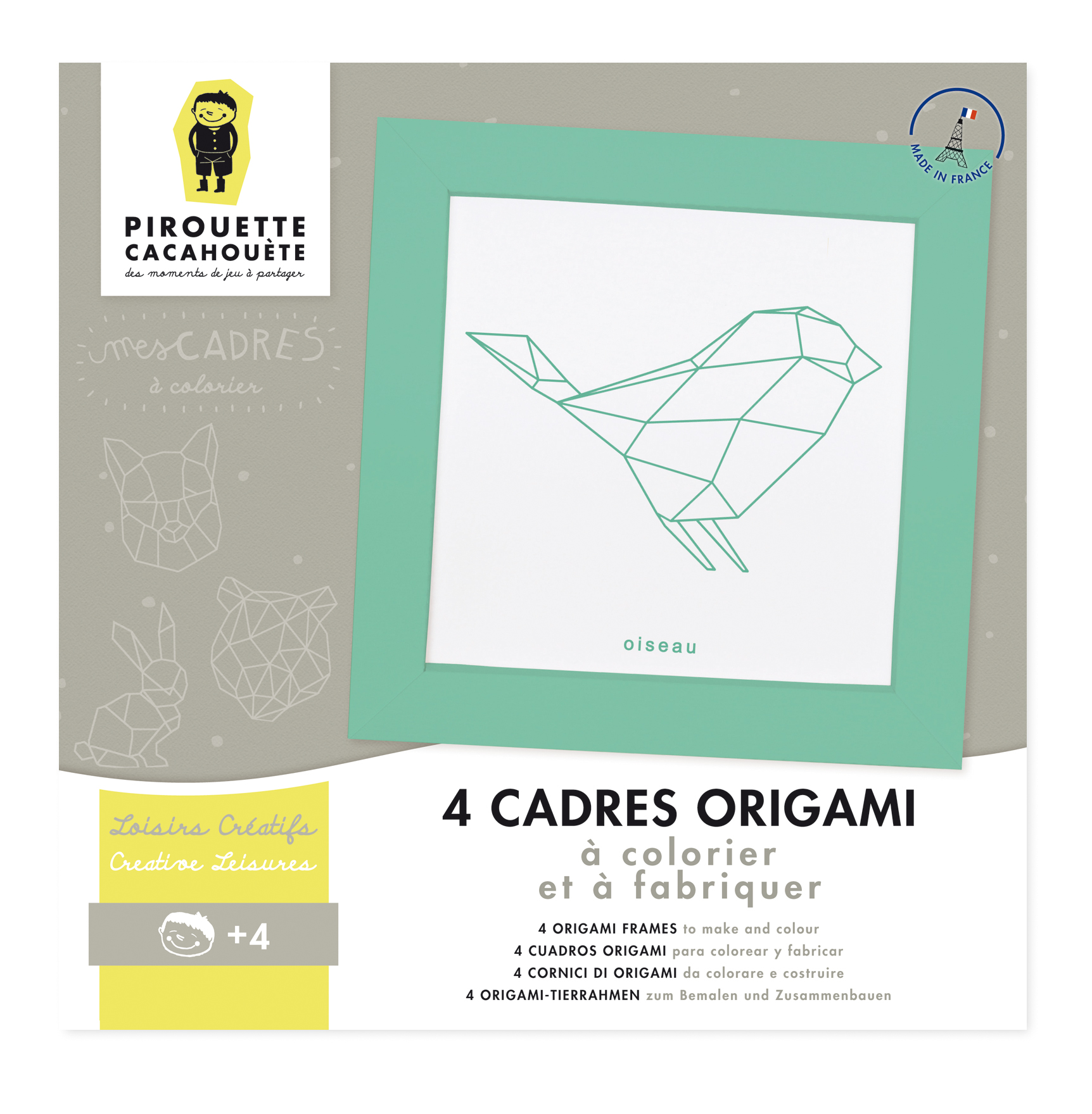 Mes cadres Animaux Origami