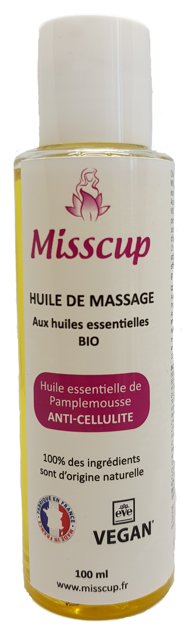 Huile de massage BIO anti-cellulite